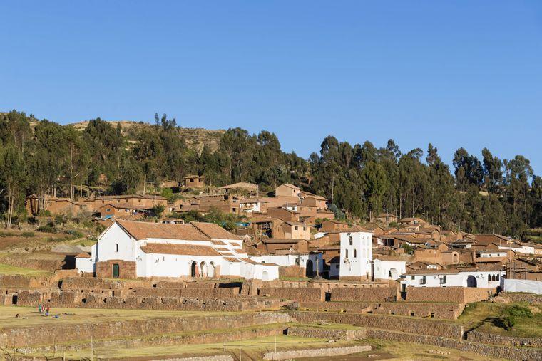 Das kleine Dorf Chinchero im Heiligen Tal.