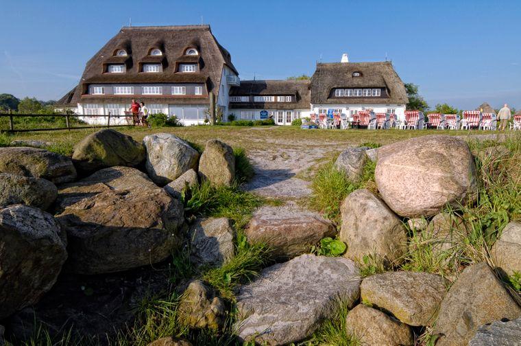 Wow: Allein wegen der Häuser im Ort, ist Hohwacht in Schleswig-Holstein etwas Besonderes.