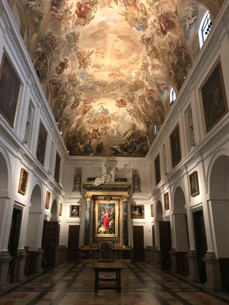 In der Sakristei der Kathedrale Santa Maria in Toledo hängen Werke von El Greco und Goya.