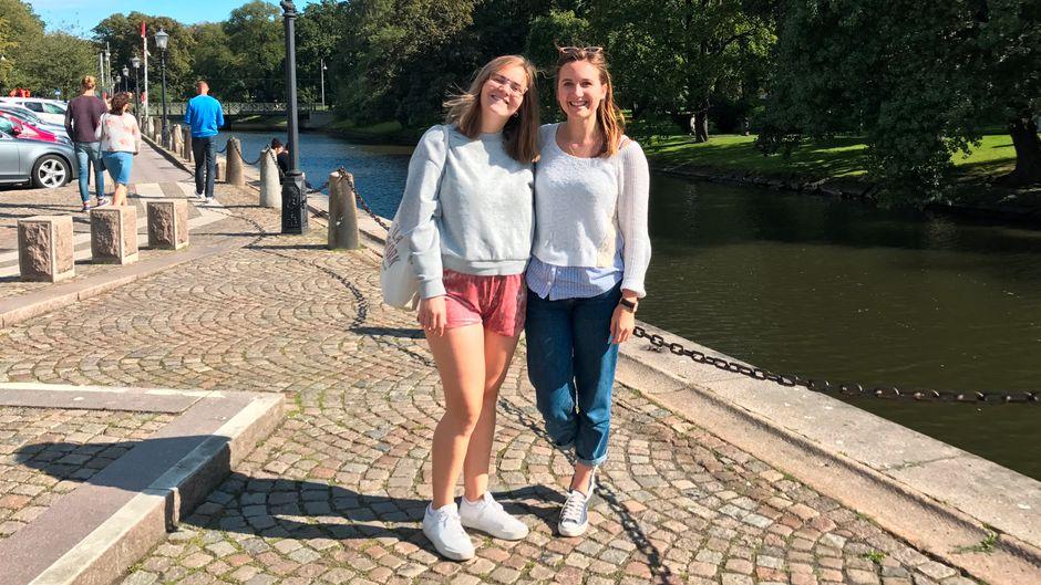 Karolina Andersson Firek und Leonie Greife in Göteborg
