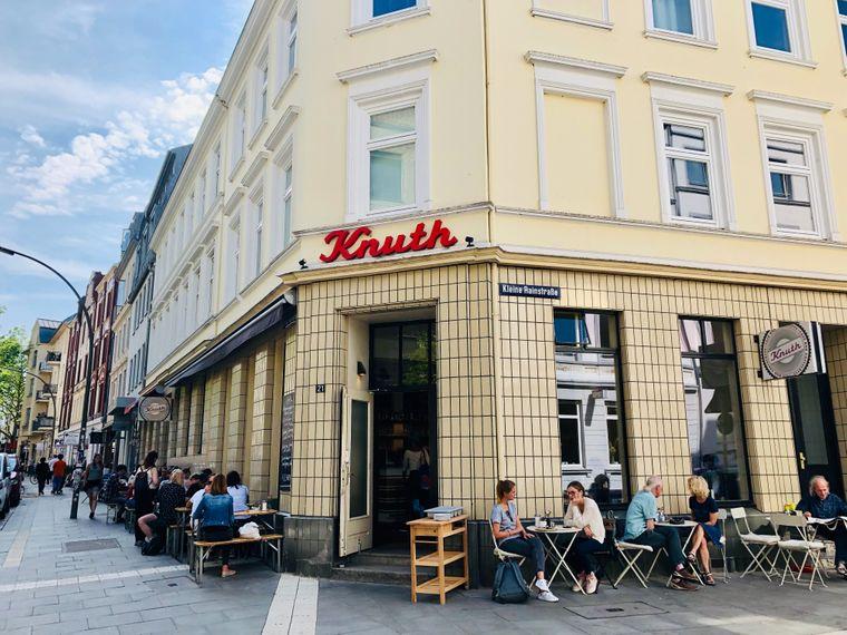 Für Frühstück-Fans: Das Knuth in Hamburg.