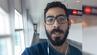 Hassan al-Kontar aus Syrien darf den Flughafen Kuala Lumpur nicht verlassen. Er postet täglich Videos von seinem Leben als Gestrandeter.