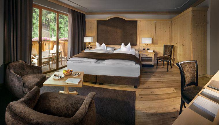 Das Hotel Gardena Grödnerhof in Italien schafft es auf Platz vier der besten Hotels in Europa.
