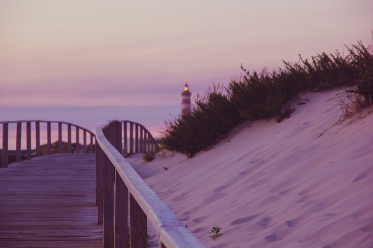 Am Strand kannst du problemlos allein sein.