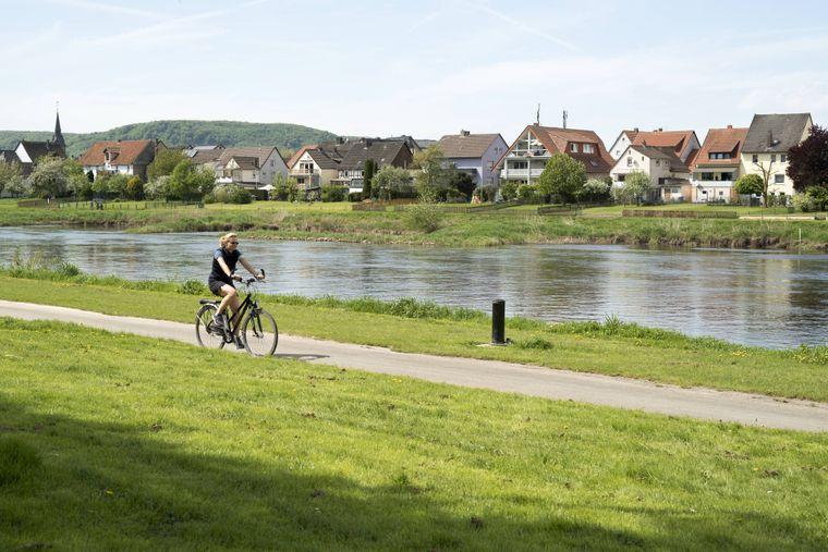 Der Weser-Radweg ist erstmals der beliebteste Radfernweg Deutschlands.
