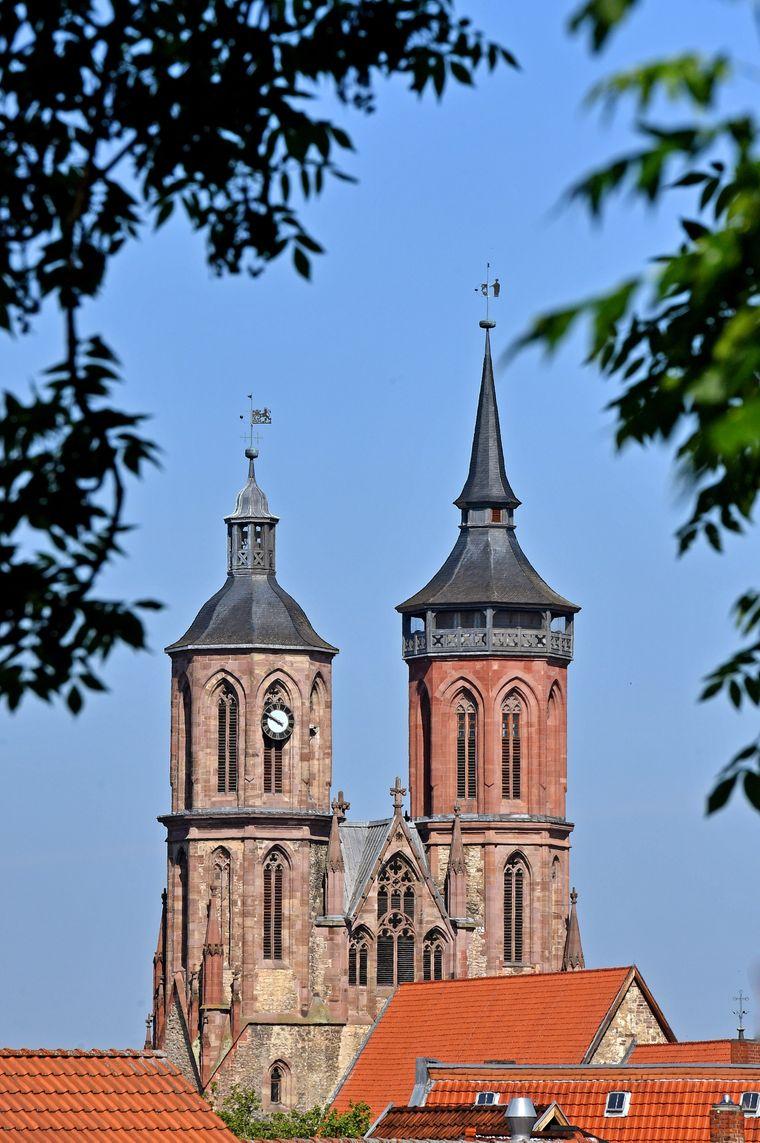 Kirchtürme von St. Johannis in Göttingen