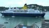 """Die """"Saga Pearl 2"""" kracht bei der Einfahrt in den Hafen von Dartmouth in vier Segelboote."""