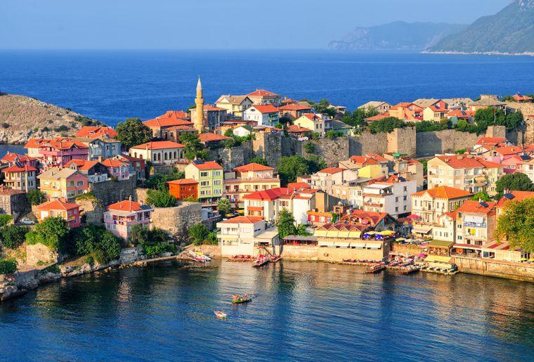 Amasra ist einer der beliebtesten Orte am Schwarzen Meer.
