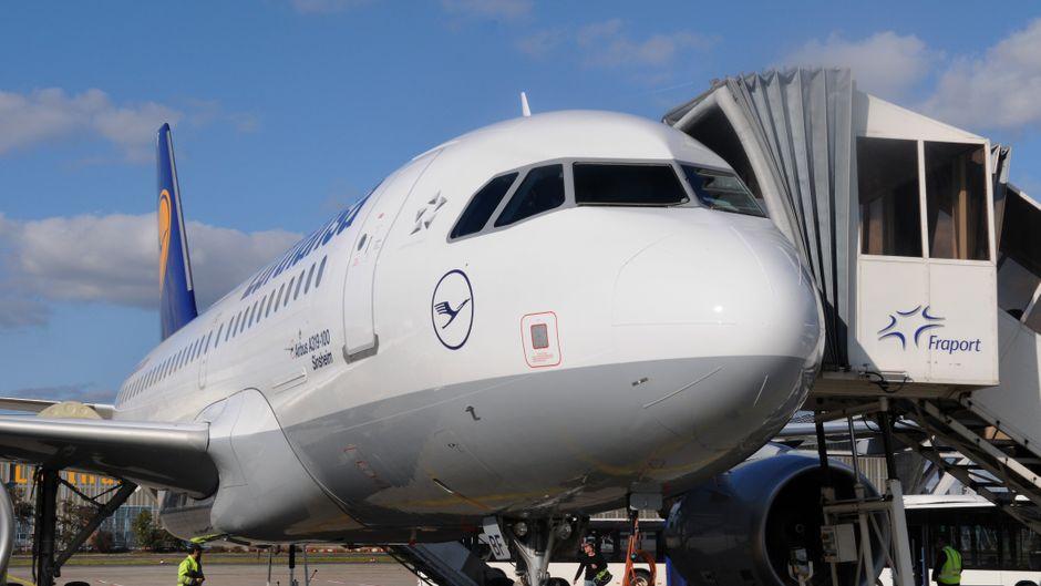 Der Airbus A319-100 der Lufthansa wird normalerweise nur auf der Kurz- oder Mittelstrecke genutzt. (Symbolfoto)