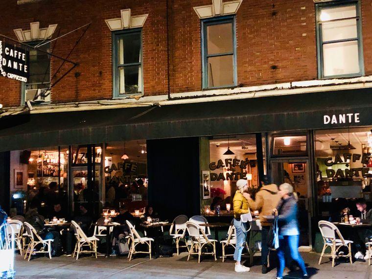 Weltspitze: Das Dante in Greenwich Village.