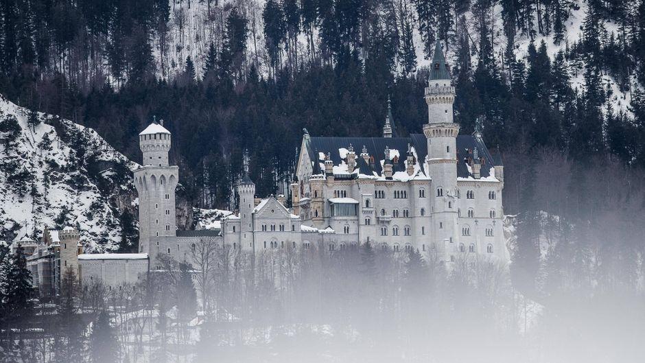 """Das einstige Lustschloss in Bayern ist Vorbild für """"Dornröschen""""."""