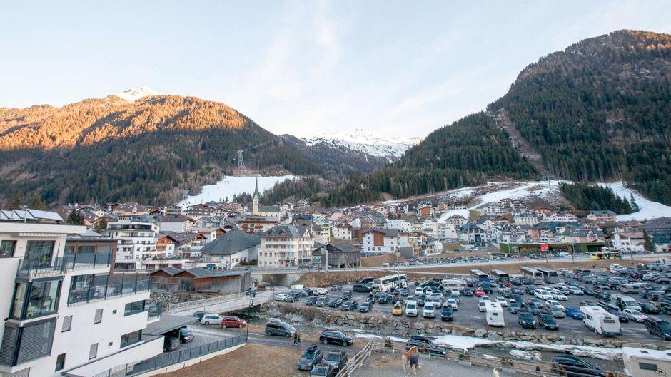 Wintersportort Ischgl in Österreich.
