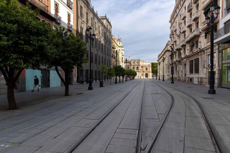 Spaniens Städte sind seit Beginn der Corona-Krise kaum besucht.