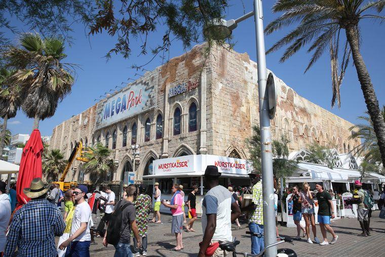 Der Megapark auf Mallorca liegt am Platja de Palma, einem fast 8 Kilometer langen Sandstrand.