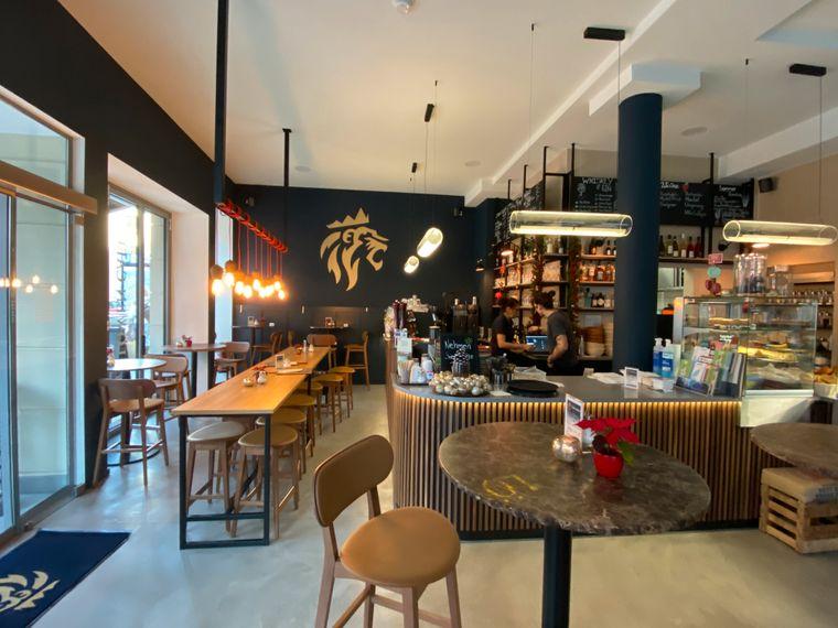 Gut gebrüht, Löwe: Im Café Löwe kannst du jede erdenkliche Kaffeespezialität probieren.