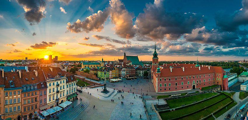 Schlossplatz und Altstadt von Warschau