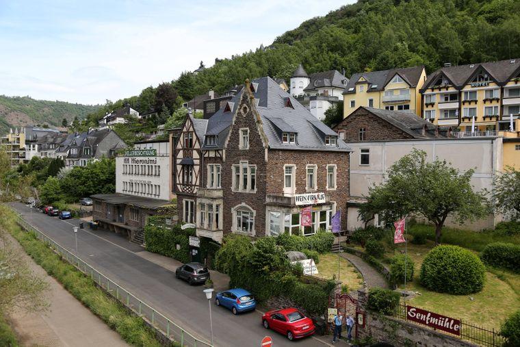 Cochem an der Mosel mit der historischen Senfmühle.