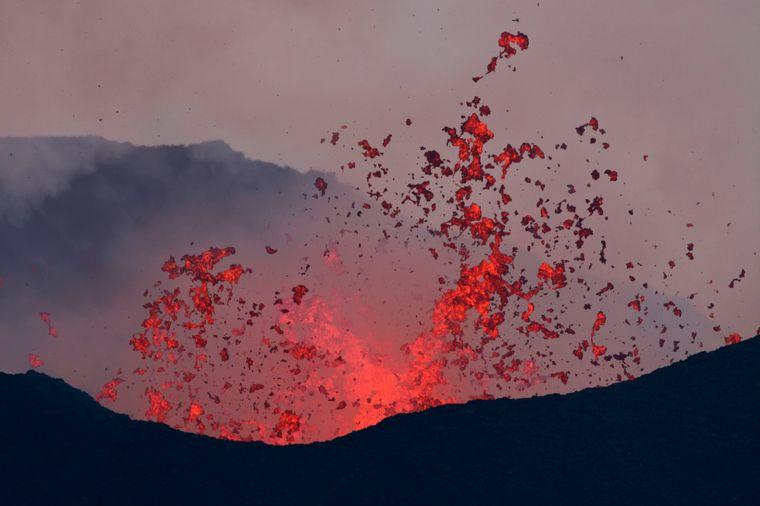 Reisende können eine Eruption des Nyamuragira im Kongo live miterleben.