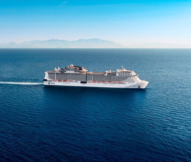 """Die """"MSC Virtuosa"""" soll ab November 2020 im Mittelmeer unterwegs sein."""