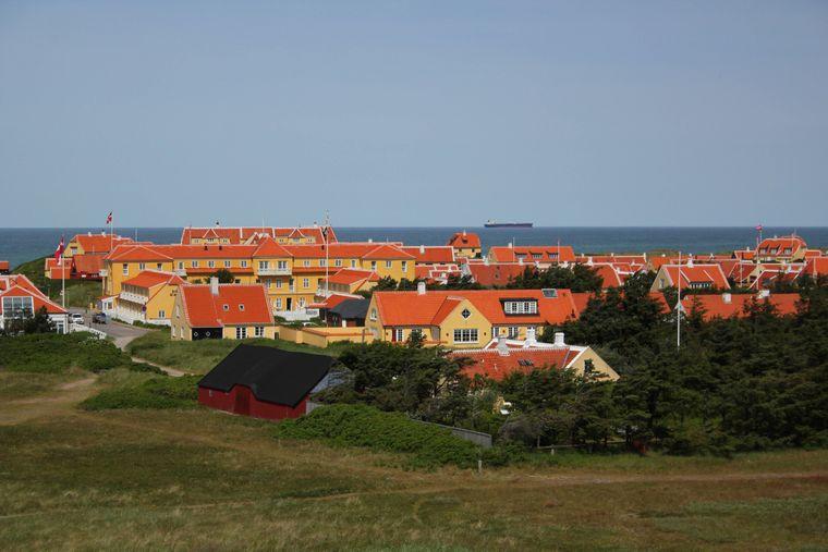 Gammel Skagen in Dänemark.