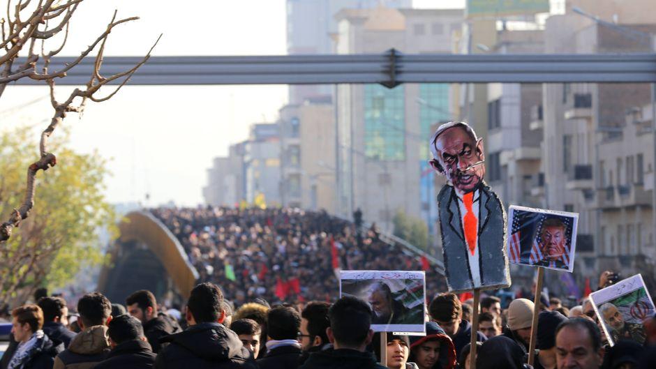 Staatstrauer im Iran um den getöteten General Ghassem Soleimani. Das hat Auswirkungen auf die Reise in die Region und Länder im Nahen Osten.