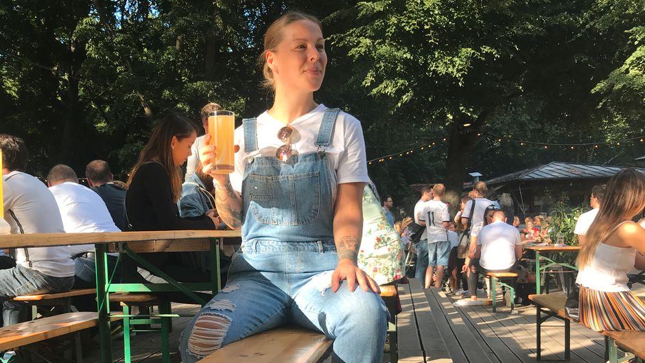 Leos Favorit in Sachen Biergärten: Das Café am Neuen See in Berlin.