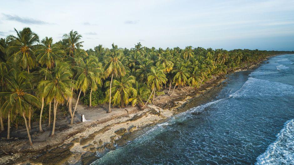 Die Malediven setzen auf Umweltschutz.