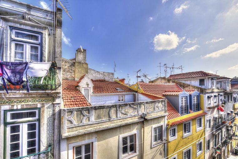 Bairro Alto, Lissabon, Portugal.