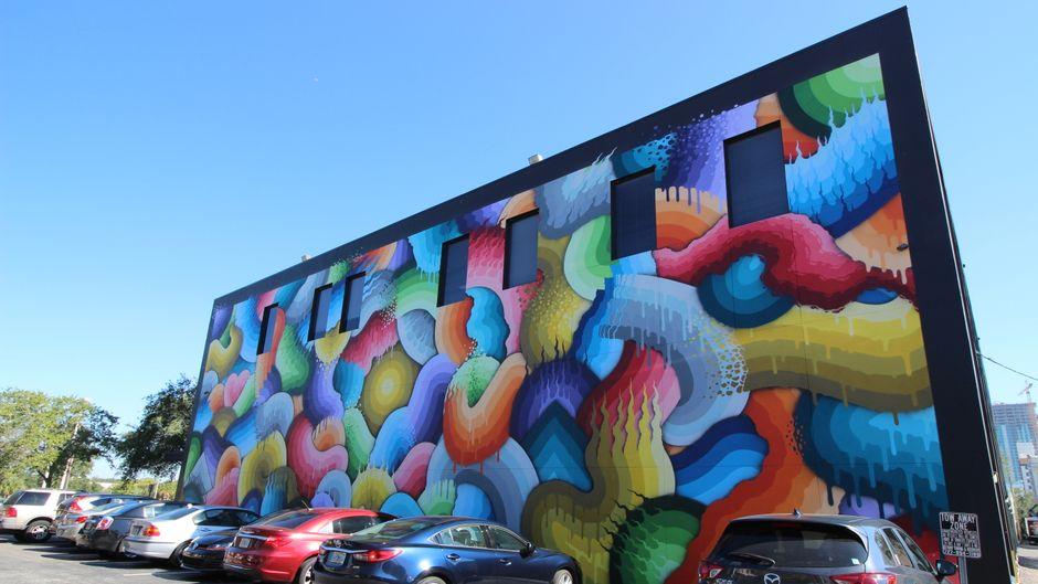 Schön bunt: Die Mural-Art-Szene in St. Pete ist äußerst aktiv.
