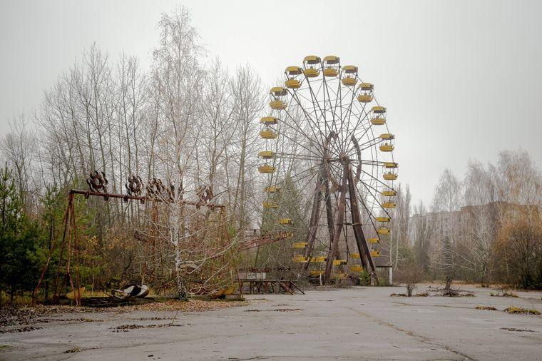 Der Rummelplatz in Prypjat sollte am 1. Mai 1986 eröffnet werden.
