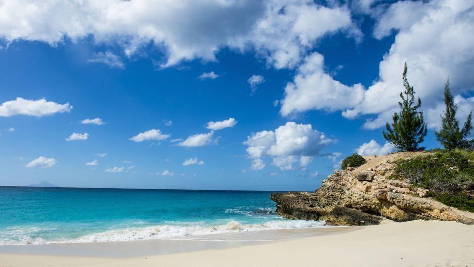Sint Maarten gehört zu den Antillen in der Karibik.