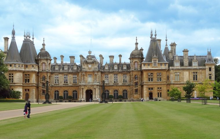 Waddesdon Manor in Buckinghamshire.