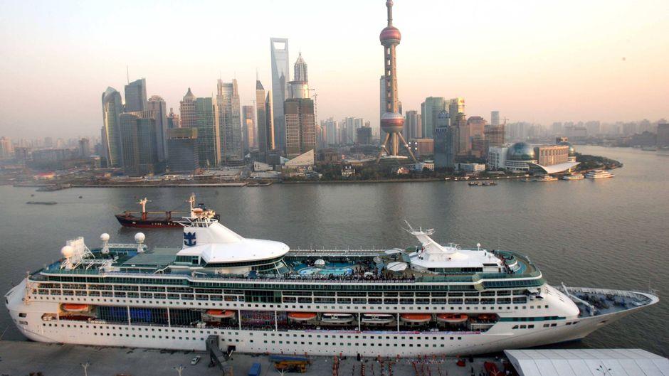 Hafen von Shanghai