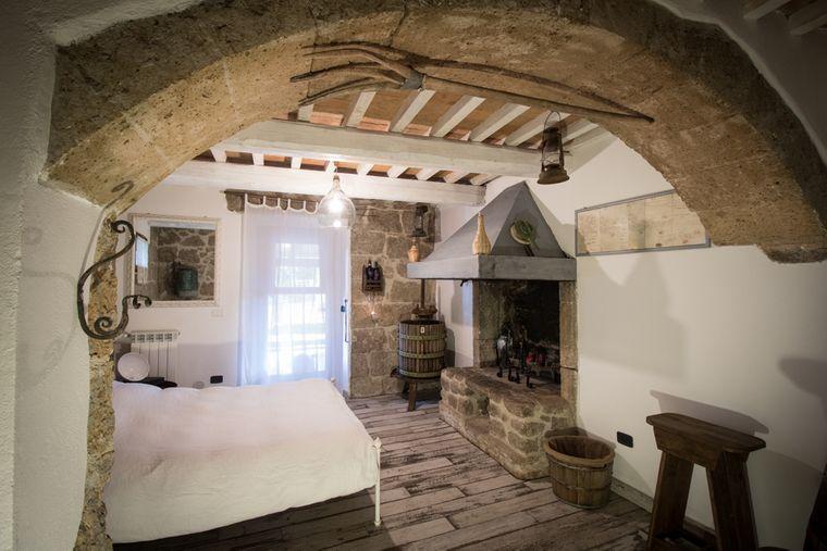 Zimmer im Agriturismo biologico Sant'Egle, Toskana.