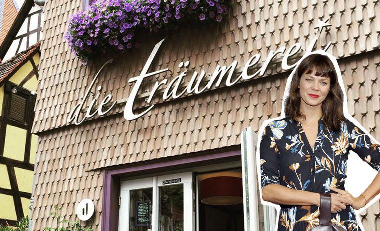 Ein Café und Designhotel eröffnete Schauspielerin Jessica Schwarz.