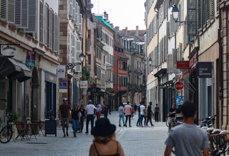 In der Straßburger Altstadt kann man prima shoppen.