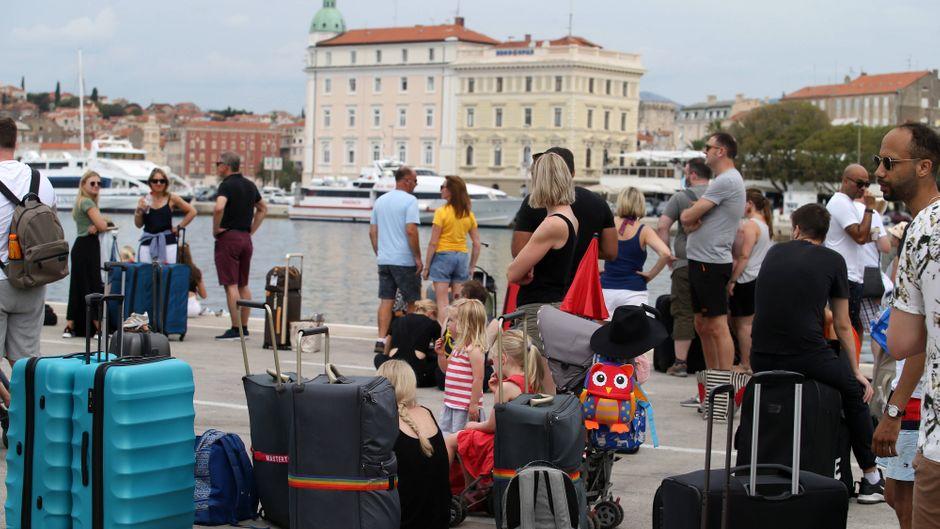 Split in Kroatien gilt seit dem 20. August als Risikogebiet.