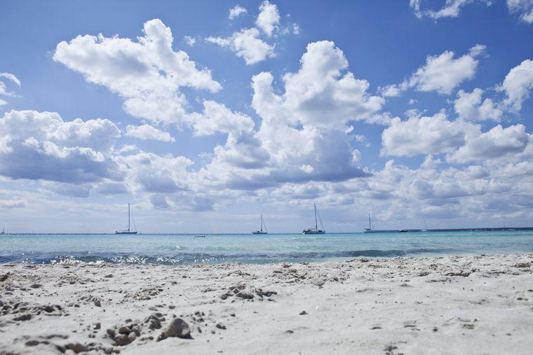 Karibik-Paradies oder tatsächlich Mallorca? Der Traumstrand Es Trenc ist ein absolutes Highlight der Baleareninsel.