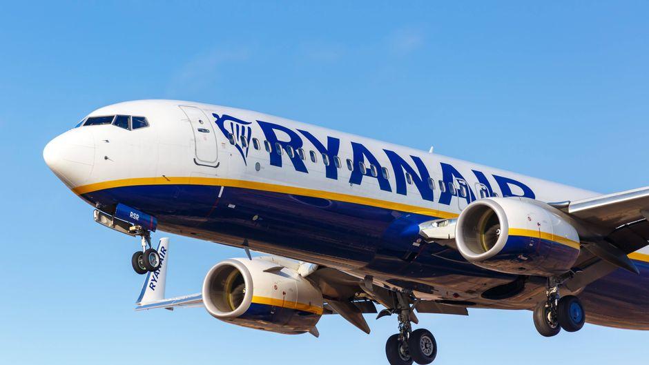 Boeing 737-800 von Ryanair. (Symbolfoto)