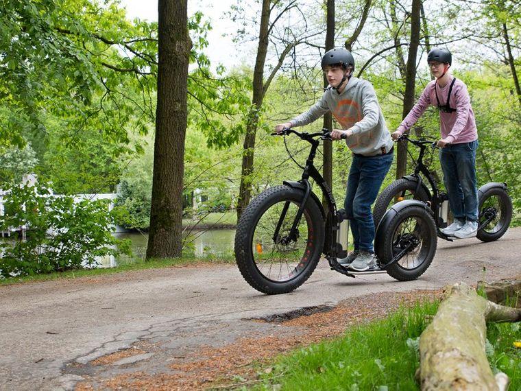 Mit dem Fun-Bike geht es durch die Eifel