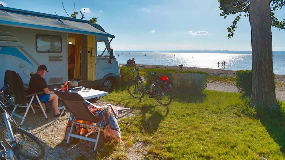 Die Corona-Maßnahmen wirken sich auch auf den Camping-Urlaub in Deutschland und im Ausland auf. (Symbolfoto)