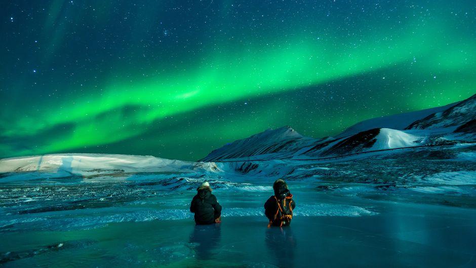 Polarlichter umgibt eine geheimnisvolle und zauberhafte Aura.
