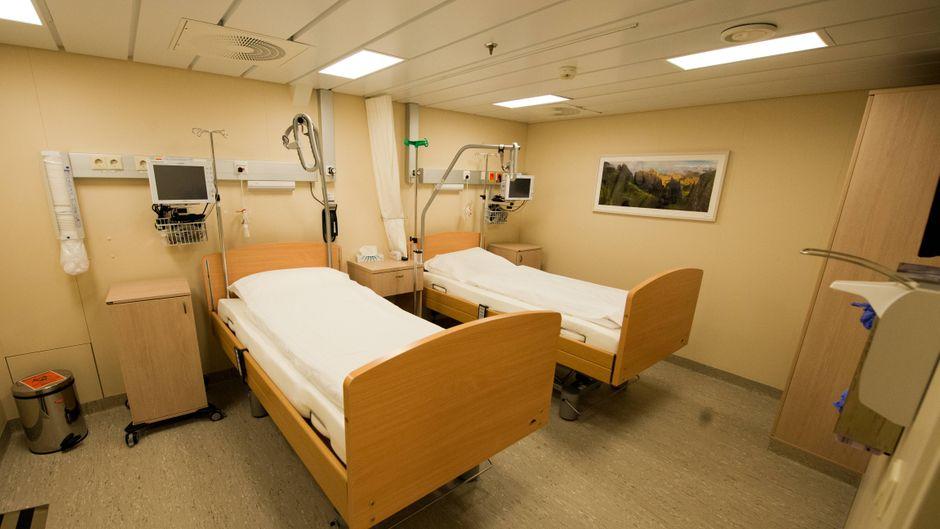 """""""Mein Schiff 6"""" von Tui Cruises hat eine mit der modernsten Notfallmedizin eingerichtete Krankenstation mit intensivmedizinischer Versorgung."""