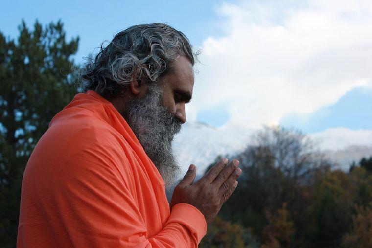 Indischer Guru.