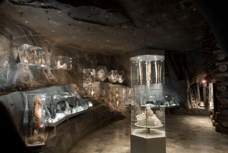 Das Salzbergwerk in der südpolnischen Stadt Wieliczka ist eines der ältesten Salzbergwerke der Welt.