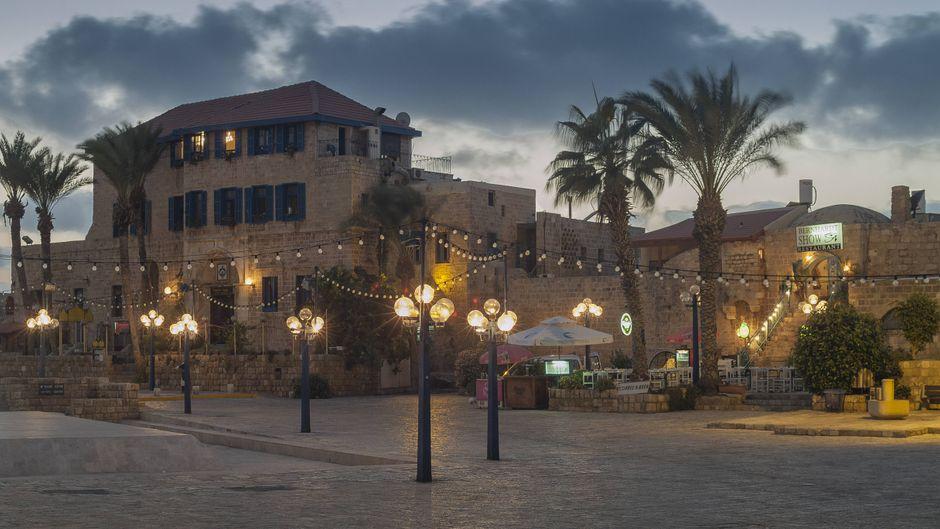 Hotel und Restaurants in Tel Aviv in Israel.