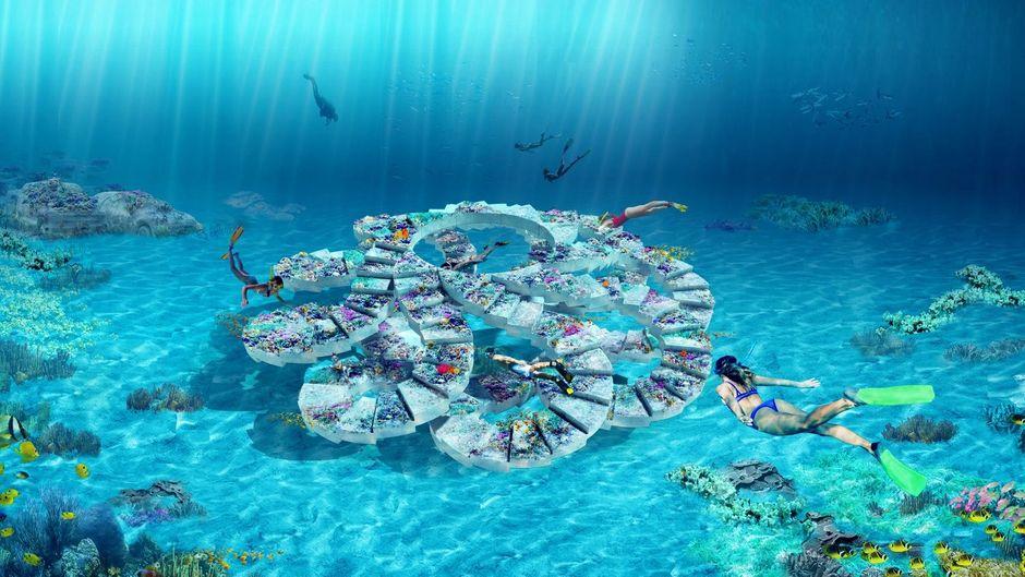 In Miami Beach soll ein neuer Unterwasser-Skulpturenpark entstehen.