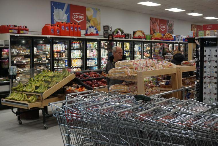 Coop-Supermarkt in Cambridge Bay.
