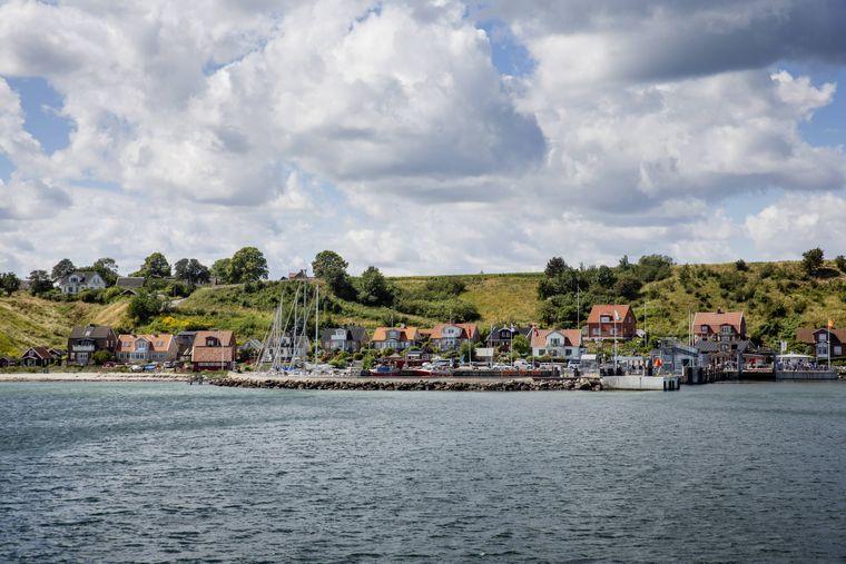 Die Ostsee-Insel Ven liegt zwischen Schweden und Dänemark.