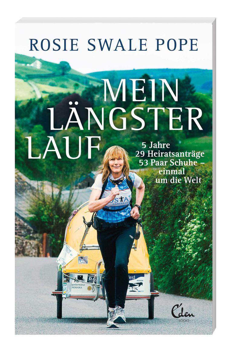 """Im Buch """"Mein längster Lauf"""" berichtet Rosie Swale Pope von ihrem Abenteuer."""